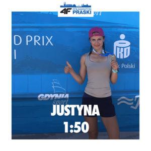 Justyna Głuchaczka 1:50